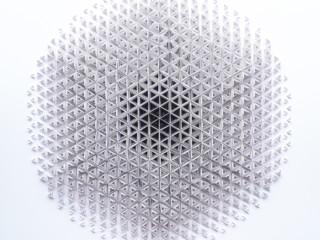 Miriam Fitzgerald Juskova - A New Beginning - paper - 90x90cm